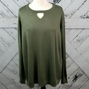 ONE A tunic sweater